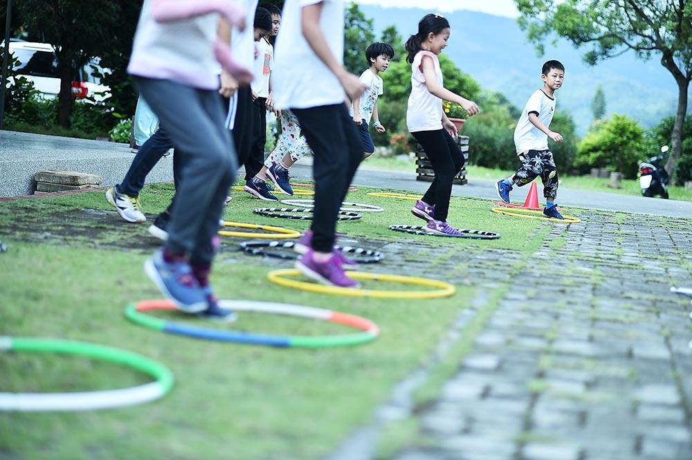 動靜皆俱的課程,讓孩子在穩定的節奏中樂於投入