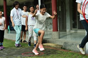 充滿趣味的運動讓孩子活力滿滿